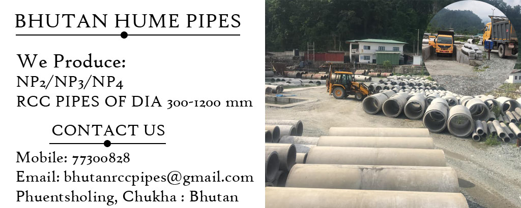 Hume pipes bhutan